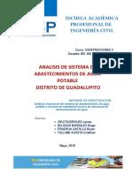 Analisis de Sistema de Abastecimientos de Agua Potable 1