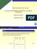 Matrices y Vectores