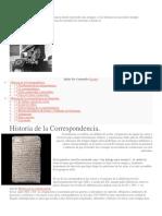 Historia de La Correspondecia
