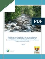 Restauración de Objetos de Conservación de Las Cuencas Hidrográficas de Los Ríos Magiriaimo y Maracas Departamento Del Cesar 2011