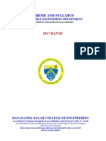 AU-2017 Scheme & Syllabus