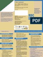 Boas Praticas Para Servicos de Alimentacao - (Folder)
