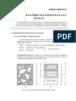Propiedades Físicas e Indice de Los Suelos - Separata