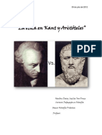 Aristoteles y Kant