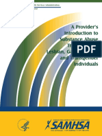 A Provider's Introduction SAMHSA