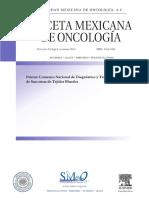 2013_Sociedad_mexicana_oncología Primer consenso nacional de diagnóstico y tratamiento de sarcomas de tejidos blandos (1).PDF