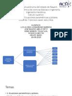 Parametricas y Coordenadas Polares