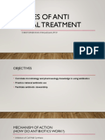 2 - Principles of Anti-Infective Microbial Treatment