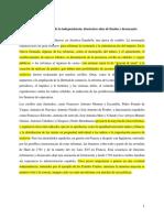 PROMESAS Y FRUSTRACIONES DE LA INDEPENDENCIA