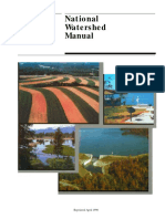 National Watershed Manual