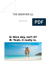 The Weather (1)