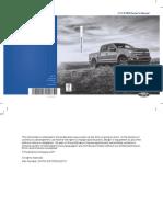 2018 Ford F 150 Owners Manual Version 1 Om en US 05 2017