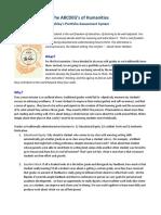 carruths portfolio assessment policy 2019