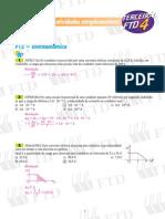 EXERCÍCIOS DE FÍSICA - Eletrodinâmica - Eletromagnetismo - Ondulatória - Física Moderna