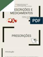 Medicamentos e prescrições