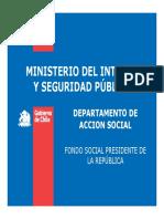 Fondo Social Presidente