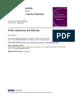 Syme, Pollio, Saloninus and Salonae