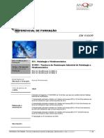Tecnico de Manutençao Industrial de Metalurgia e Metalomecnica- ReferencialCP