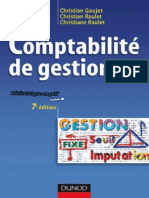 Comptabilite de Gestion 7 Ed Manuel