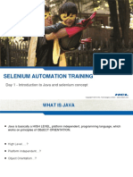 Selenium Automation Day1
