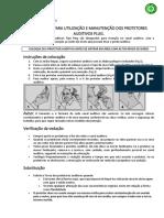 Manual Instrucoes Para Utilizacao e Manutencao Abafador