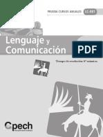Prueba PSU Lenguaje y Comunicación