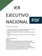 Poder Ejecutivo Nacional