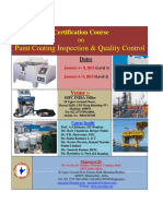 SSPC INDIA Certification Course on January 6-9 2015-1