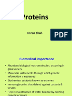 Proteins Chemistry