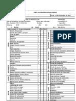 Formato de Check List Mosoc Llacta