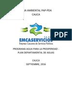 Plan Ambiental 2016-2019 Para Pueaa