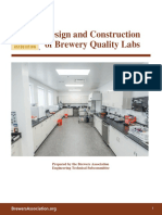 Design and Construction of Brewery Quality Labs