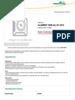1016524-ALAMBRE_TUBE-ALLOY_AP-0.pdf