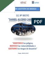 Plan Gestion de Riesgo 80292 Ugel