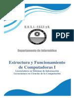 Estructuras y Funcionamiento de Computadoras 1