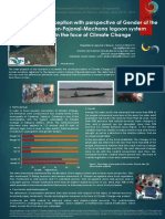 Social perception whit perspective of Gender of the Carmen-Pajonal-Machona lagoon system in the face of Climate Change