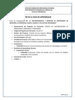 Guía de Aprendizaje AA13