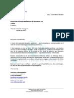 Carta de Presentacion Backus Trujillo