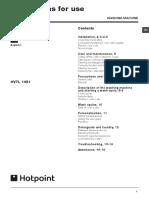 Hotpoint Hv7l 1451 Manual