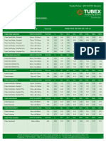 British Hardwood Tree Nursery Landscape Forestry Planting Supplies Price List 2018 2019 Season Trade