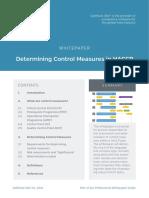 Determining Control Measures
