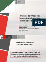 d g Contabilidad Publica Saneamiento Contable Al 12-02-2015