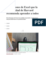 lecciones de Excel para todos