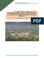 Estudio Impacto Ambiental Chavin de p.