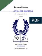 raymund andrea - tecnica del discipulo.pdf