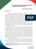 PROJETO DE ALFABETIZAÇÃO TECNOLÓGICA ITINERANTE E REFORÇO ESCOLAR - PATIRE