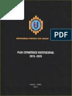 Plan Estratégico Institucional UPSCP