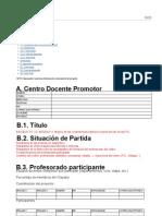 Proyecto de Formación en centros, módulo II