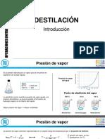 1 - Destilación - introducción