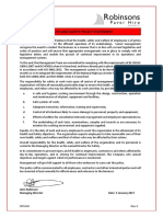 RPH001 HS Policy Statement